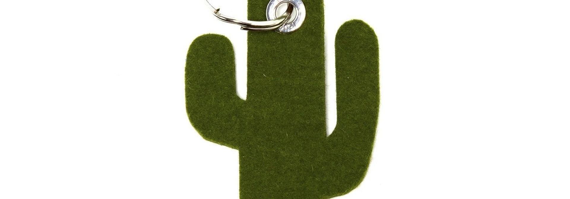 Key Fob -Cactus - Loden Green
