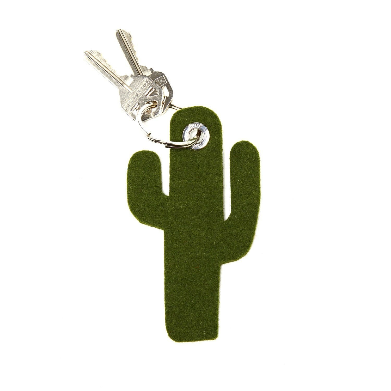 Key Fob -Cactus - Loden Green-1