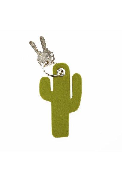Key Fob -Cactus - Pistachio