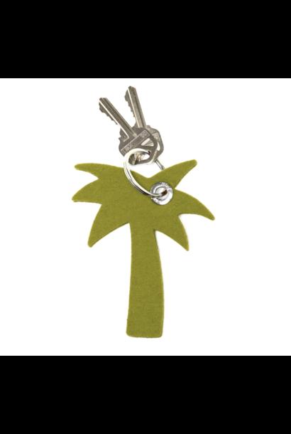 Key Fob - Palm Tree - Pistachio
