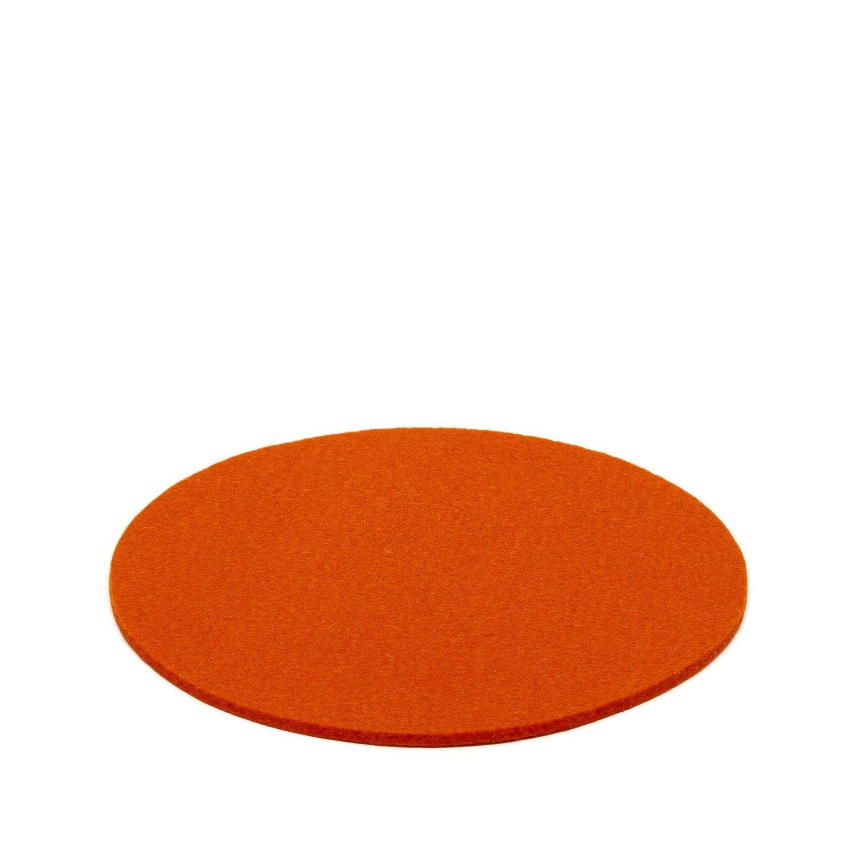 "Trivet -Round - Orange - 10""-1"