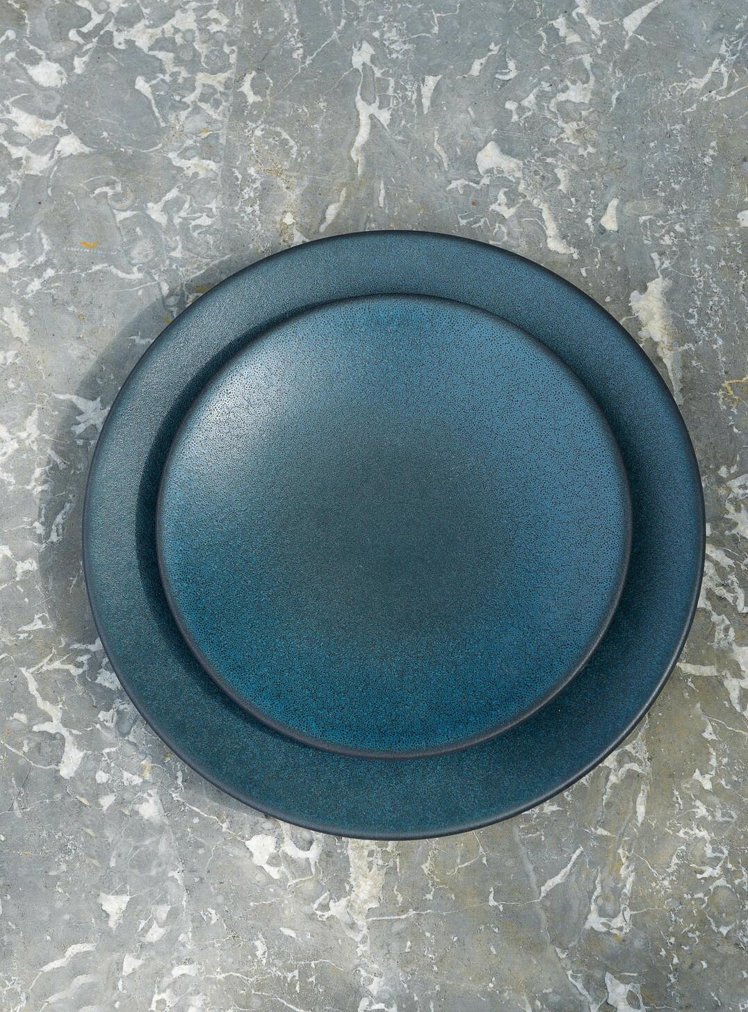 Dinner Plate - Tourron - Ink Blue-2