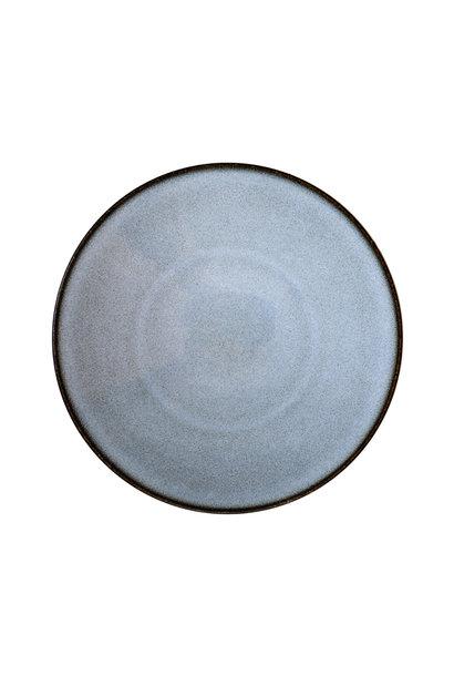 Dinner Plate - Tourron - Bleu/Grey