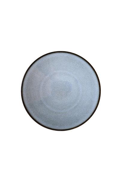 Dessert Plate - Tourron - Blue/Grey