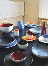 Pasta Plate - Tourron - Blue/Grey-3
