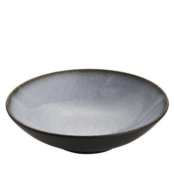 Pasta Plate - Tourron - Blue/Grey-1