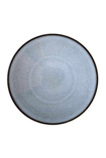 Presentation Plate - Tourron -Bleu/Grey