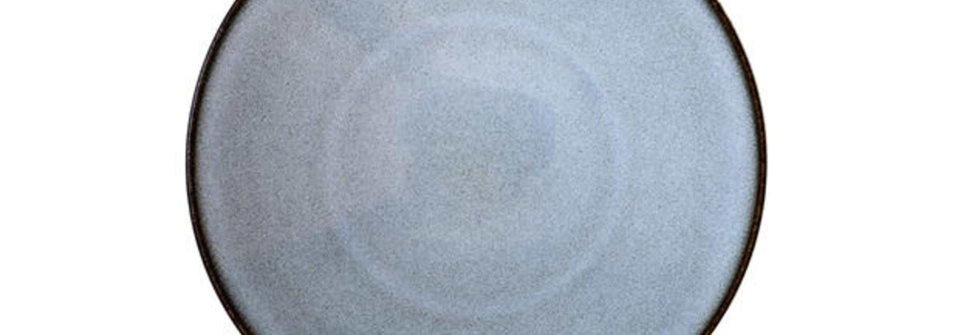 Tapas Plate - Tourron - Blue/Grey