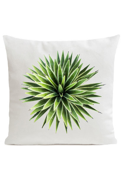 Outdoor Cushion - Yucca - White