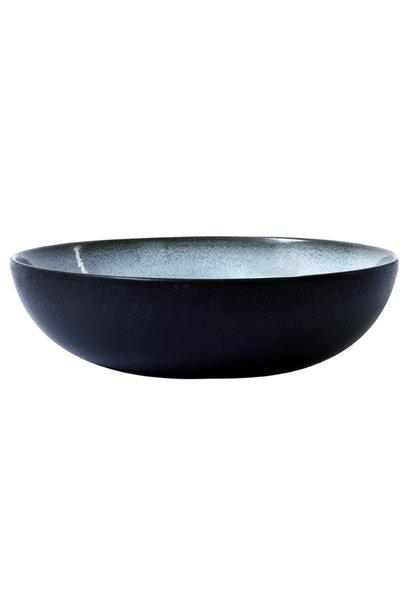 Serving Bowl - Tourron - Large - Blue/Grey