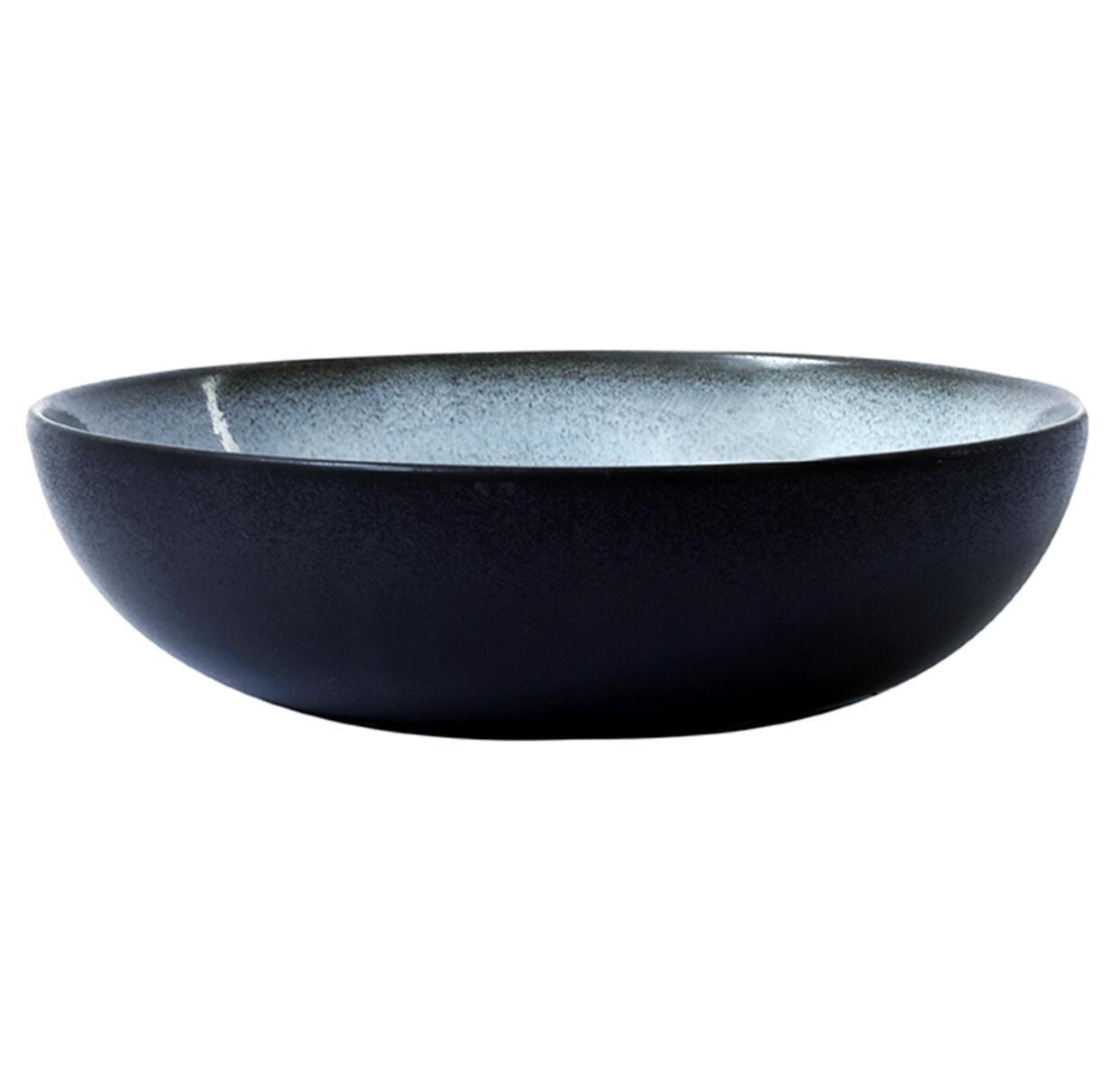 Serving Bowl - Tourron - Large - Blue/Grey-1