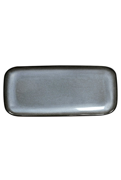 Cake/Serving Dish - Tourron - Blue/Grey