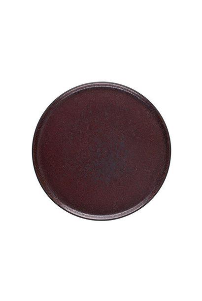 Plate - Tout Simple - Sm - Rouge Cinnebar