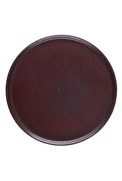 Plate - Tout Simple - XL - Rouge Cinnebar