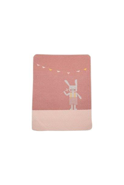 Baby Blanket - Bunny - Rouge