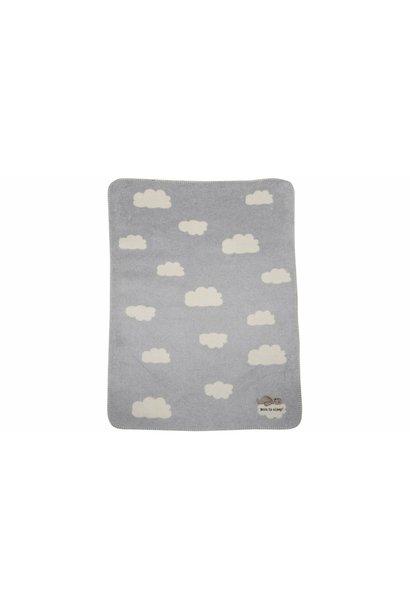 Child's Blanket - Born to Sleep - Grey