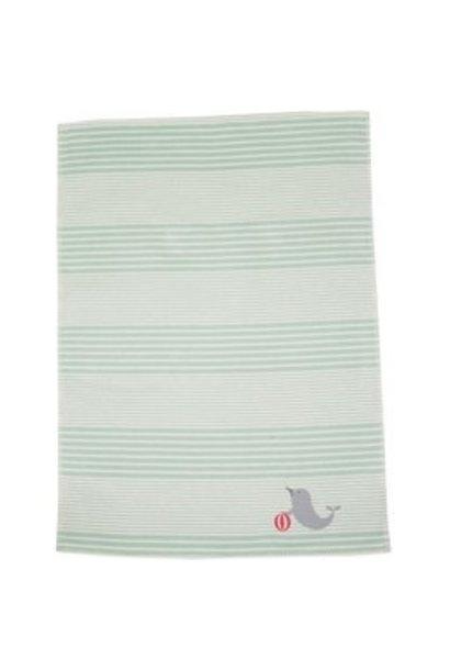 Child's Blanket - Seal - Lt. Green