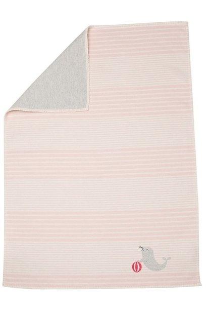 Child's Blanket - Seal - Pink