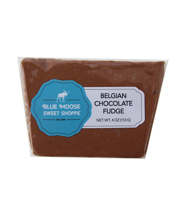 Blue Moose Fudge Belgian Chocolate