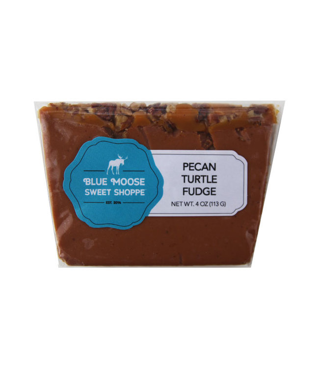 Blue Moose Fudge Pecan Turtle