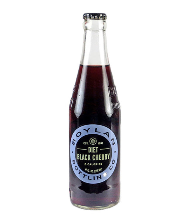 Boylan Diet Black Cherry Soda
