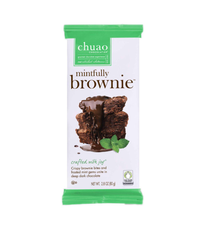 Chuao Chocolate Bar Mintfully Brownie
