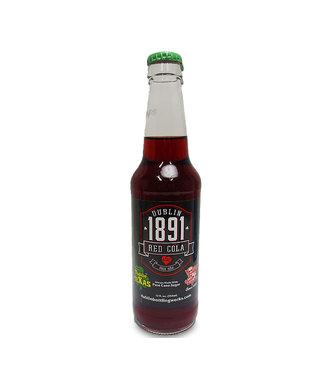 Dublin Bottling Works Dublin 1891 Red Cola