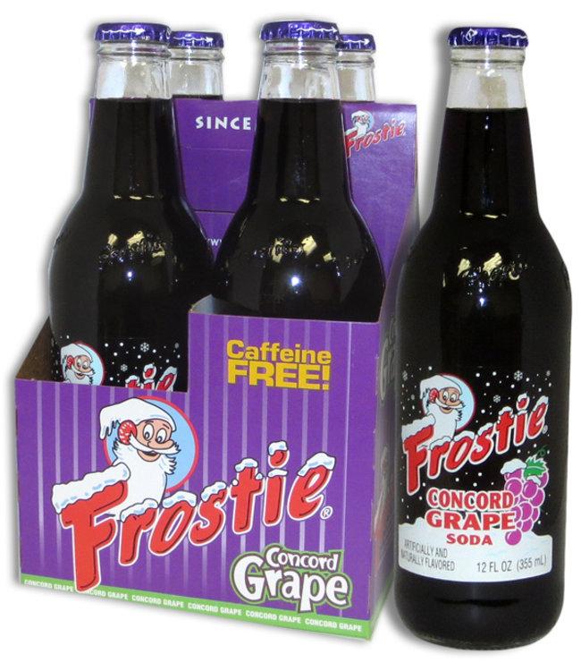 Frostie Grape Soda