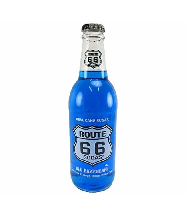 Route 66 Blu Raspberri Soda