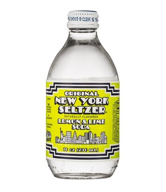 ONYS Original New York Seltzer Lemon Lime