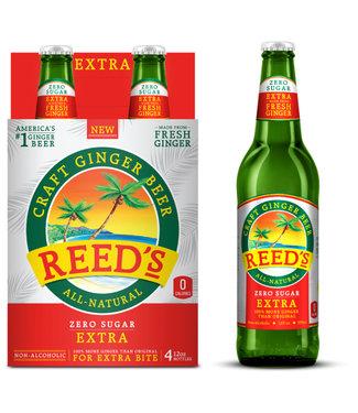 Reeds, Inc. Reeds Ginger Beer Extra Ginger Zero Sugar