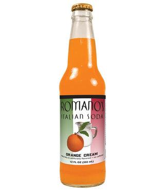 Orca Beverage Soda Company Romanos Italian Soda Orange Cream