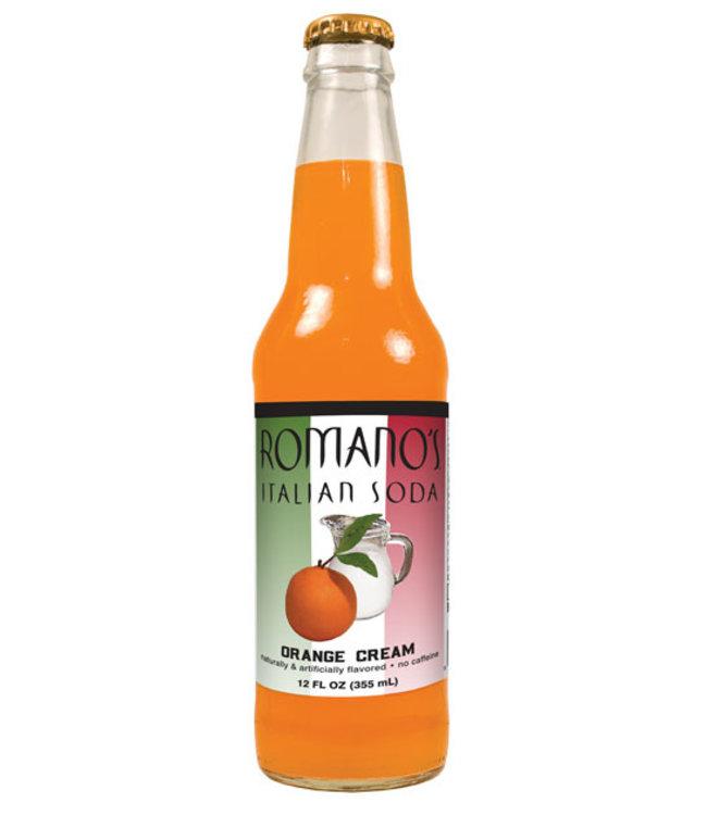 Romanos Italian Soda Orange Cream