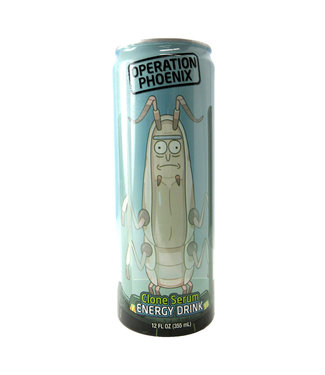 Boston America Corp Rick and Morty Operation Phoenix Energy Drink Can