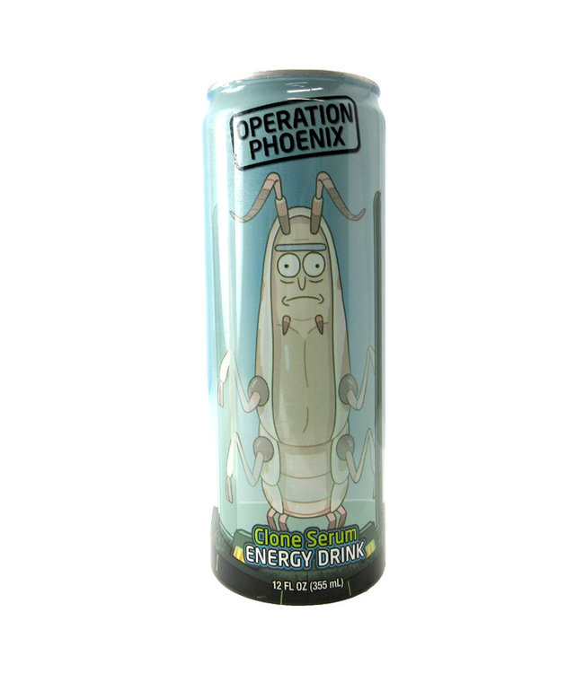 Rick and Morty Operation Phoenix Energy Drink Can