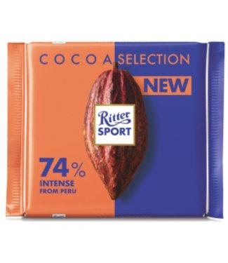 Euro American Brands Ritter Sport 74% Intense Peru
