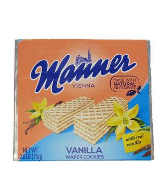 Euro American Brands Manner Wafer Vanilla