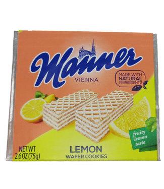 Euro American Brands Manner Wafer Lemon