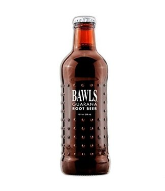 Bawls Bawls Guarana Root Beer Glass Bottle