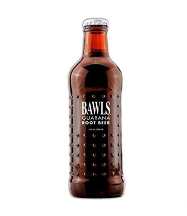 Bawls Guarana Root Beer Glass Bottle