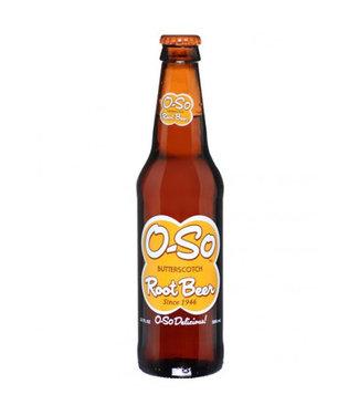 Orca Beverage Soda Company O-SO Butterscotch Rootbeer