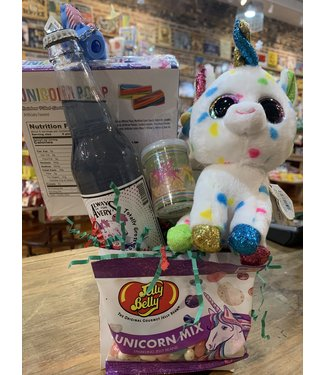 Fluffy Unicorn Gift Basket