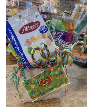 Sour Holiday Gift Basket