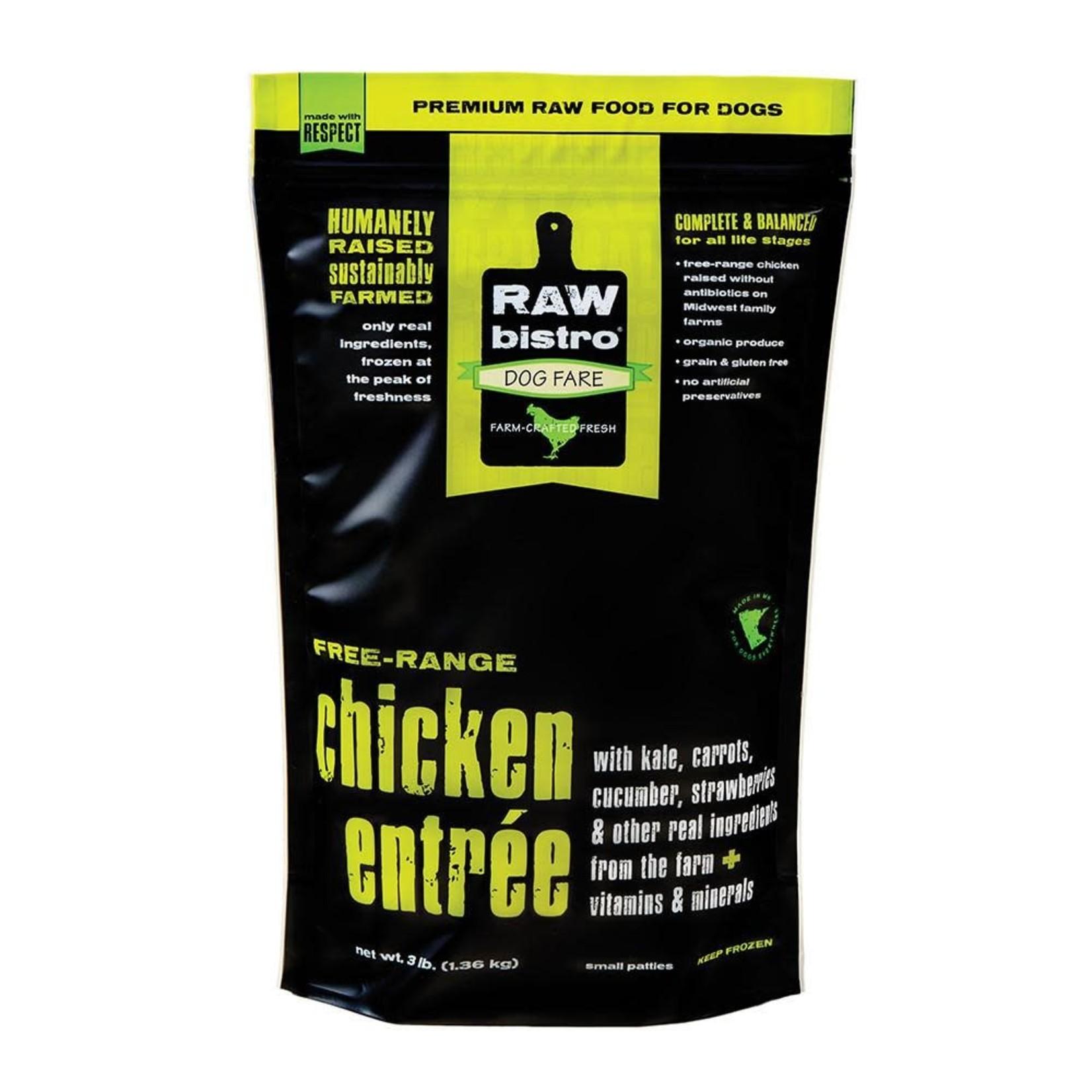 Raw Bistro Raw Bistro FZ Free Range Chicken 6#