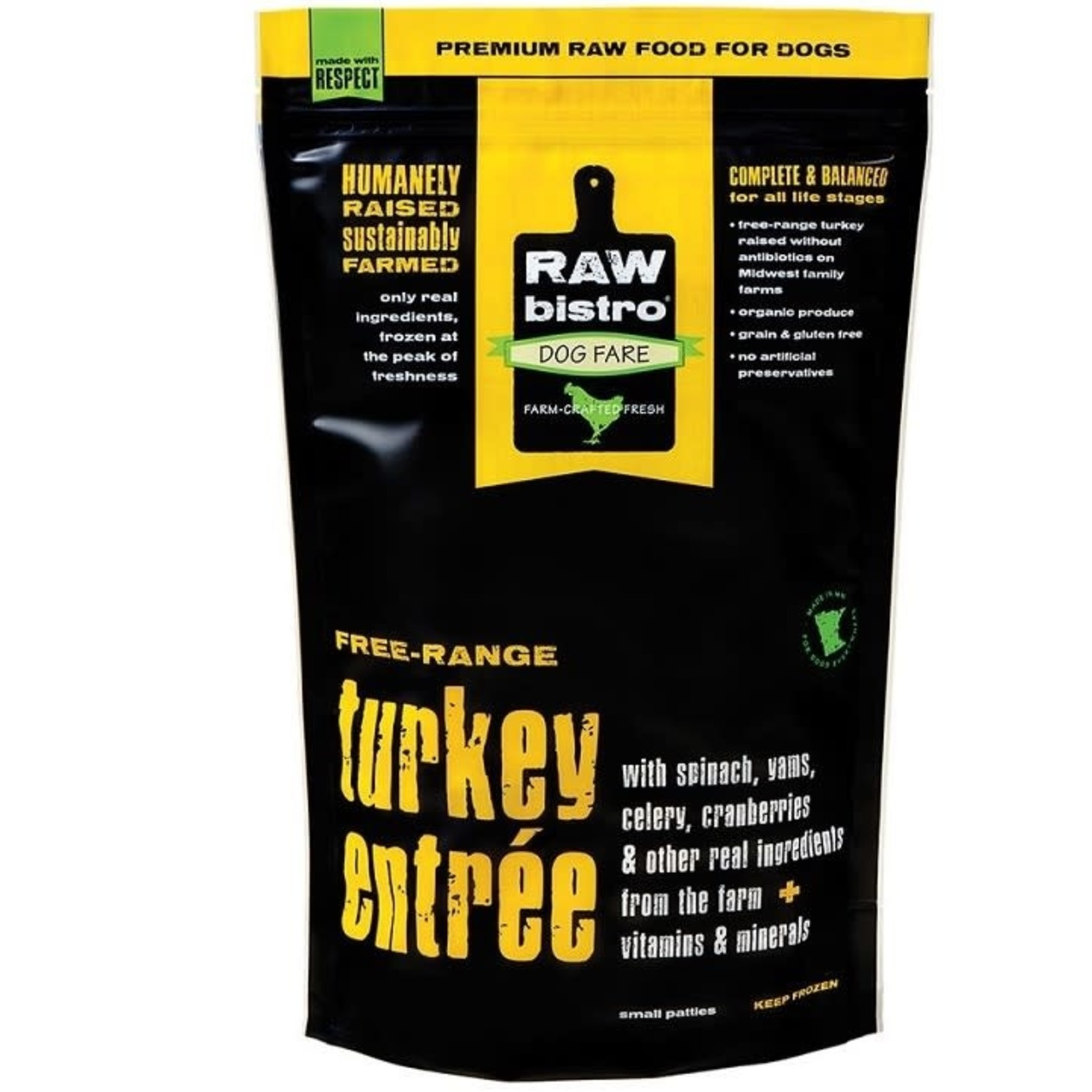 Raw Bistro Raw Bistro FZ Free Range Turkey 3#