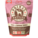 Primal Pet Foods Primal Dog Frozen Turkey & Sardine 6#