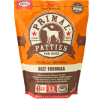 Primal Pet Foods Primal Dog Frozen Beef Patties 6#