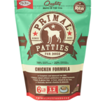Primal Pet Foods Primal Dog Frozen Chicken Patties 6#