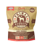Primal Pet Foods Primal Dog Frozen Lamb Nuggets 3#