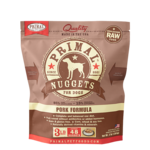Primal Pet Foods Primal Dog Frozen Pork Nuggets 3#